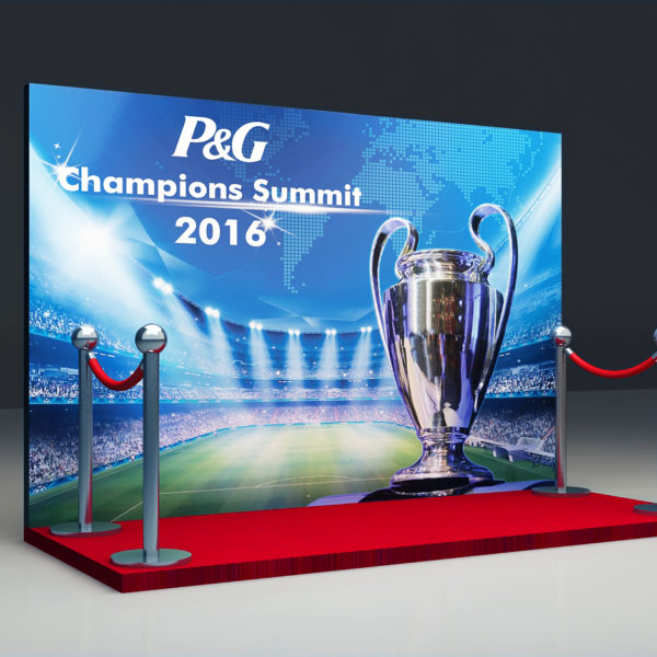P&G Champions Event -Photo backdrop