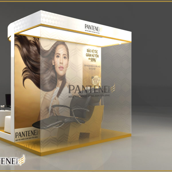 Pantene booth 2m x 2m_View 2