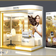 Pantene booth view 2